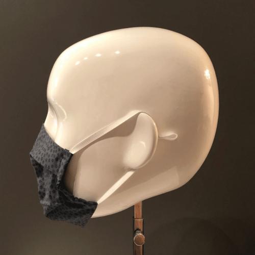 Couvre-visage 3 épaisseurs avec 2 plis Le Kiosque (profil)